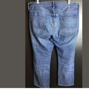7FAM Short Inseam Denim Jeans The Standard Men's